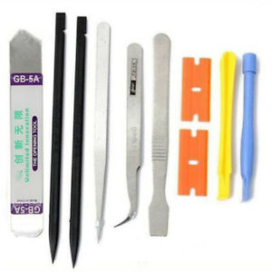 10in1 Cell Phone Screwdriver Repair Opening Pry Tools Kit Set For iPhone Samsung