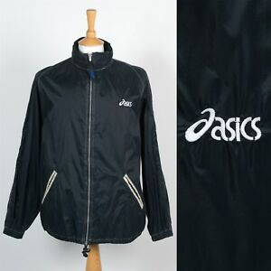 Mens 00's Cagoule Jacket Rain 90's Asics Vintage Waterproof rt6q8rB