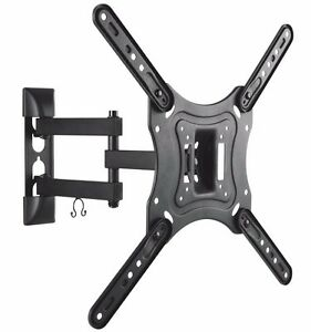 FULL-MOTION-LCD-LED-TV-WALL-MOUNT-BRACKET-SWIVEL-TILT-32-36-37-40-42-46-50-55