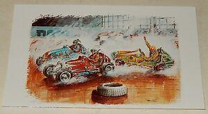 """Carte Postale N°5 IN DOOR par JP BOIVENT Collection """"Les brûleurs de gomme"""""""