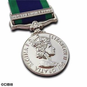 GSM-Northern-Ireland-Medal-FULL-SIZE-WITH-CLASP-General-Service-1962-Campaign
