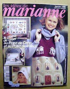 Magazine tricot Marianne au point de croix Au point de maille N° 14 /Z112   eBay