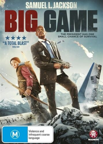 1 of 1 - Big Game - Onni Tommila NEW R4 DVD