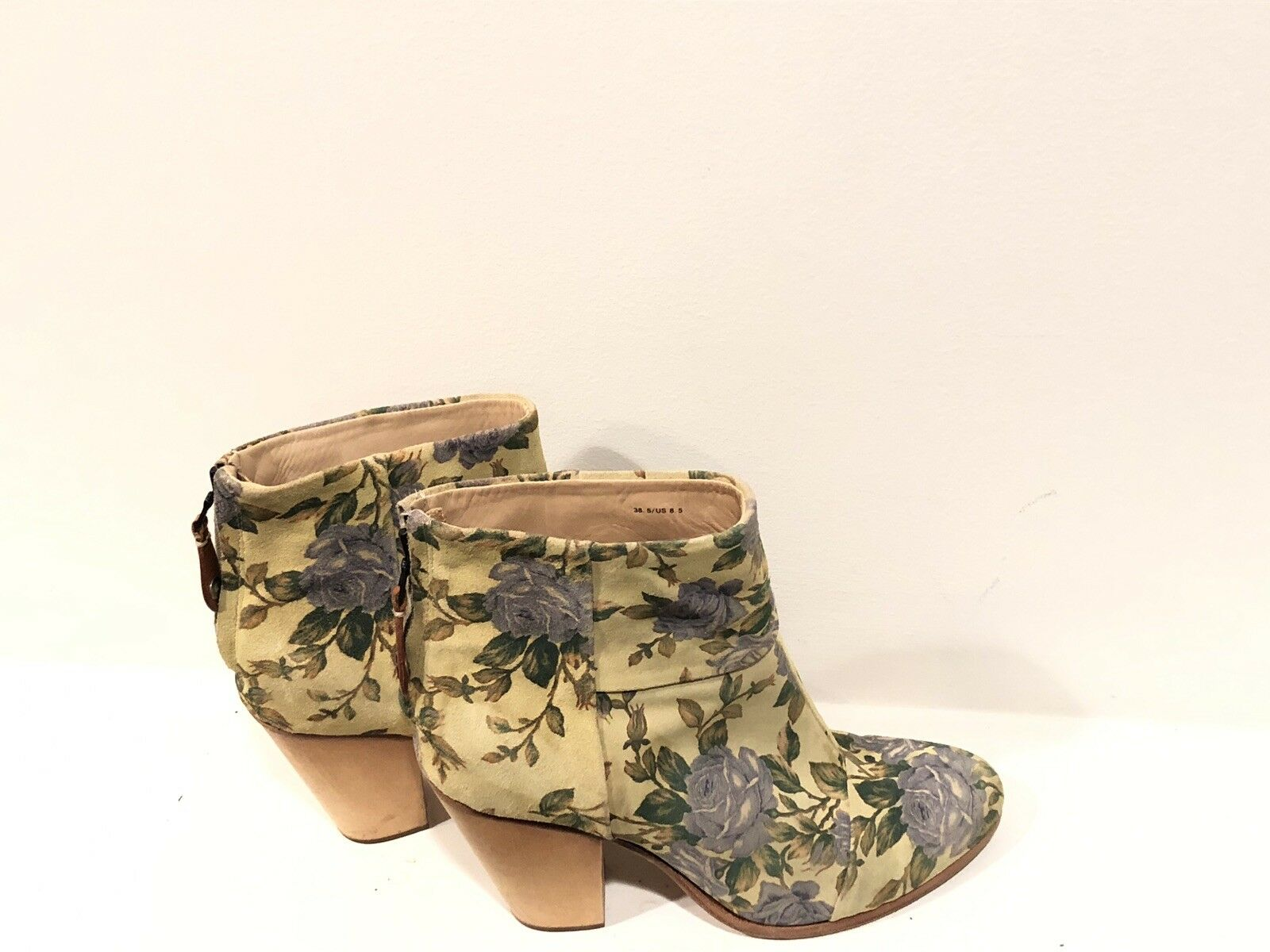 Rag & Bone Flower Suede Ankle bottes Taille 8.5 Great Condition