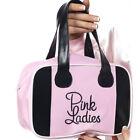 Ladies Licensed Grease Pink Lady 50s Bowling Bag Fancy Dress Accessory Handbag