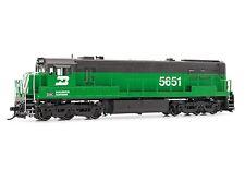Rivarossi Burlington North. GE U28C #5651 DCC ESU LokSound HO Locomotive HR2624