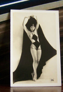 Rare-Vintage-Antique-Murray-039-s-Cigarettes-Card-Dancing-Girls-16-Madam-Nelova