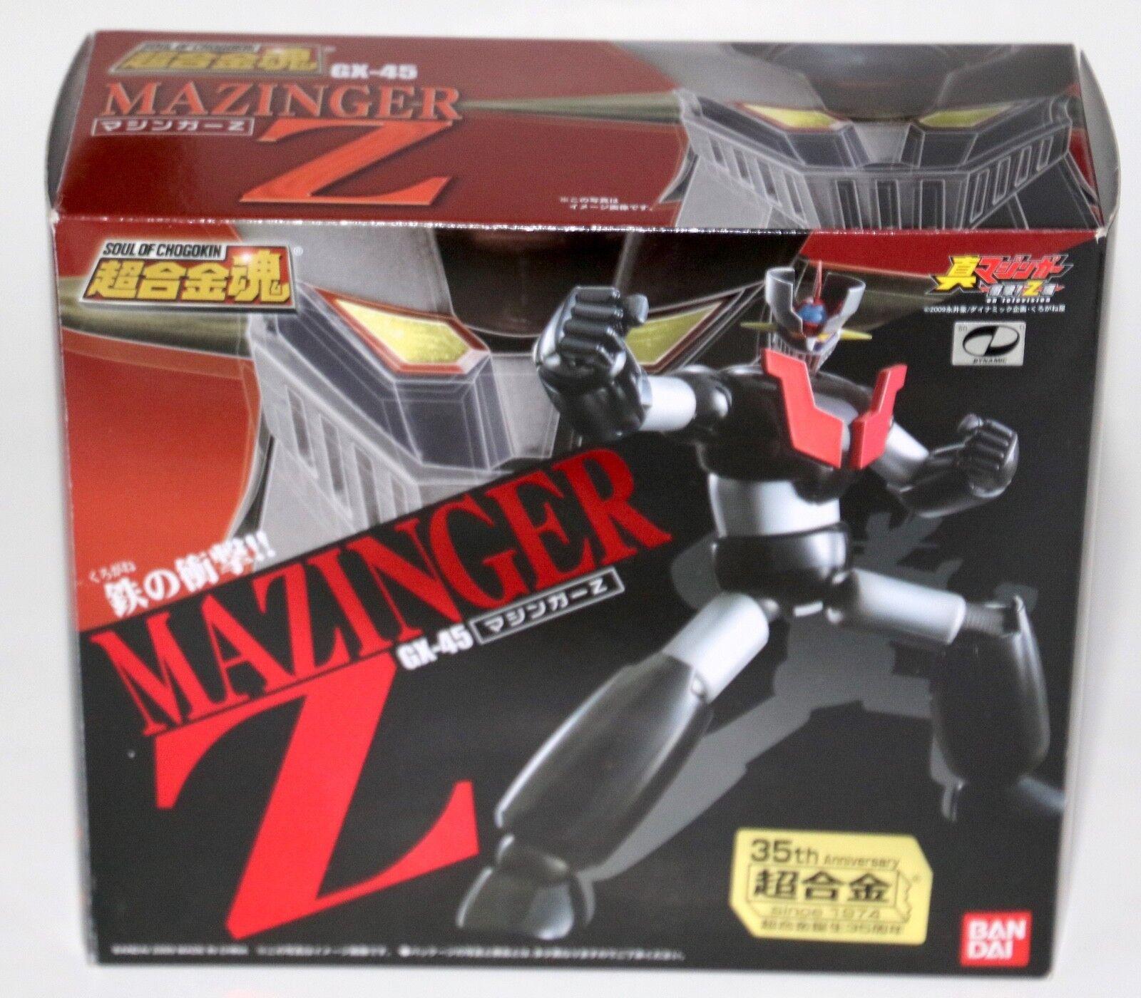 GX -45 Mazinger Z Soul of Chogokin Metal Figur