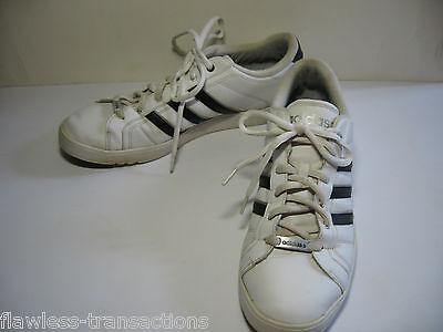 ADIDAS NEO CALSHOT Noir Blanc Tennis Skate Rembourré Traction Chaussures Taille Homme 13 | eBay