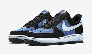 Size 8 Men's Nike Air force 1 Blue/Black 488298 088 Fashion Casual Sneakers