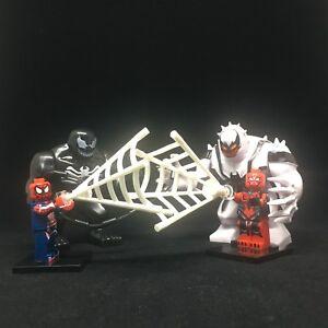 Details about 2018 Venom Spider-Man Venom Anti-Venom Superhero Marvel  Minifigure Fit Lego