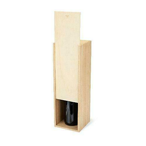 One Size Twine Marketplace Magnum Wooden Wine Box