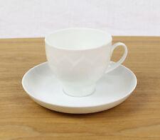 Rosenthal Lotus Weiß Kaffeetasse 2 tlg Gedeck, mehr vorhanden