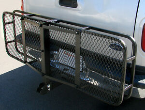 60 034 Folding Truck Car Cargo Carrier Basket Luggage Rack