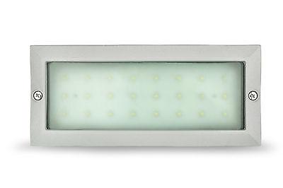 Stainless Steel White LED Bricklight Nartel 29067