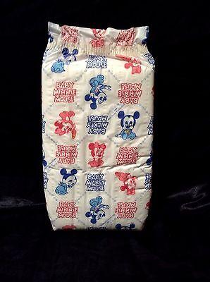 Vintage Huggies Plastic Backed Baby Diaper Size XL From 1984 Walt Disney