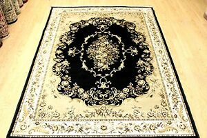 Traditional-Design-Rug-Silk-Like-Machine-Washable-Floor-Carpet-Living-Room-Rug