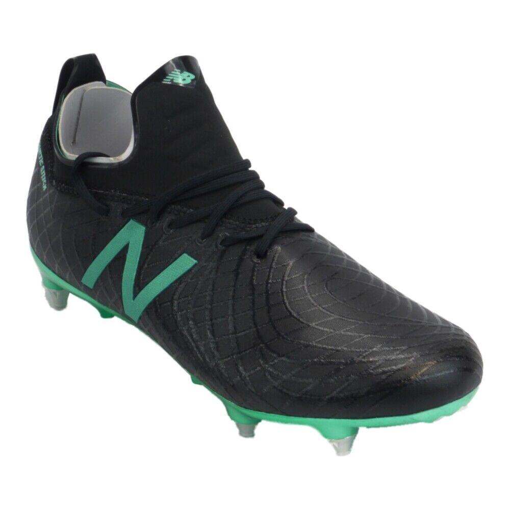 nuovo Balance tekela Pro SG Nero Mettuttiizzato verde Smeraldo