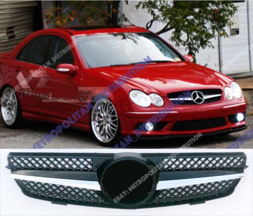 CLK200; CLK220; CLK280 Mercedes C209 une fin A209 2002-10 Grille AMG CLK63 Look W