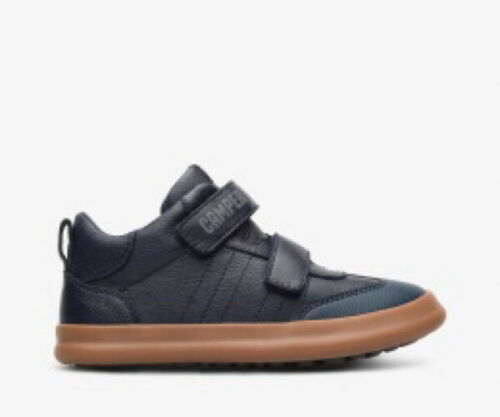 Camper Pursuit Mid Boys Casual Boot in Navy New Season