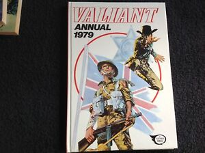 THE VALIANT ANNUAL 1979 / UNCLIPPED.  WITH FOLDED PAGES