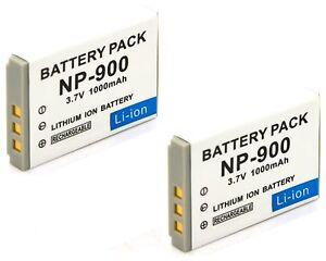Batería 2x para Praktica luxmedia 7103 Minolta Dimage e50