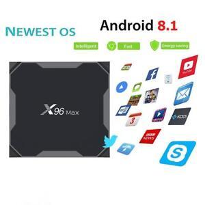 X96 Max 4k S905w Android 81 1gb8gb Hd 4k 24g Wifi Smart Tv Box