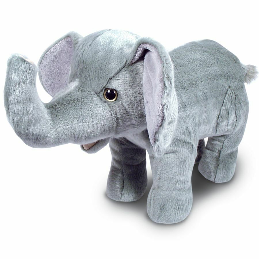50cm Large Elephant Soft Toy - Soft Toy Animal - 0+ Years - Birthday Gift