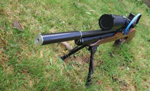 Carbone barillet Carénage Capot compatible avec un Air Arms S200 MK2