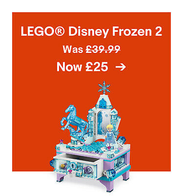 LEGO® Disney Frozen 2. Was £39.99. Now £25.