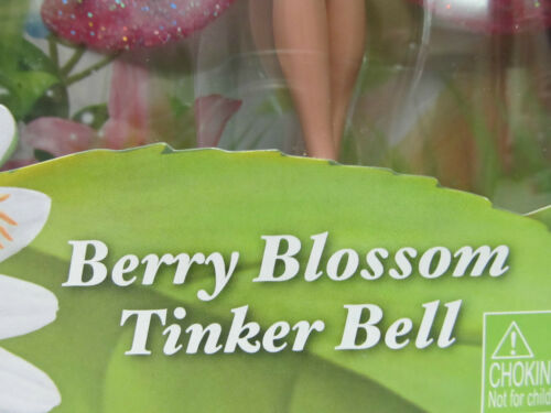 Disney Faries Berry Blossom Tinker Bell her Wings Light Up /& Magical..........