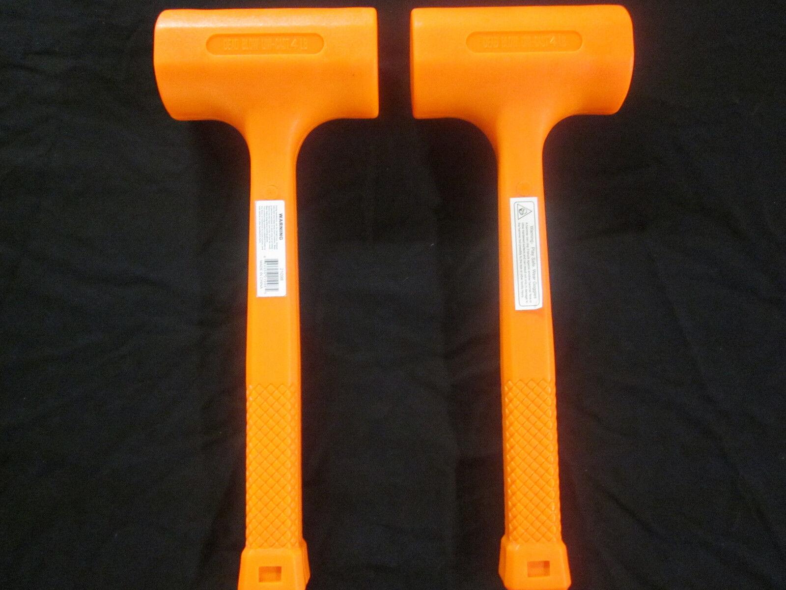 30 mm Wiha 83238030 Safety Medium Hard Soft-Faced Hammer Black//Orange Transparent