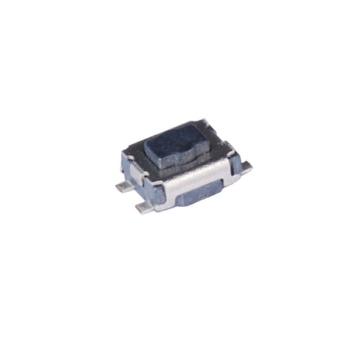 100Pcs Bouton Poussoir Interrupteur Momentané Tact Tactile SMD SMT Surface Mount 3x4x2mm