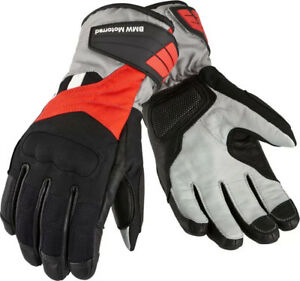 New BMW GS Dry Gloves MENS Black/Red/Anthracite