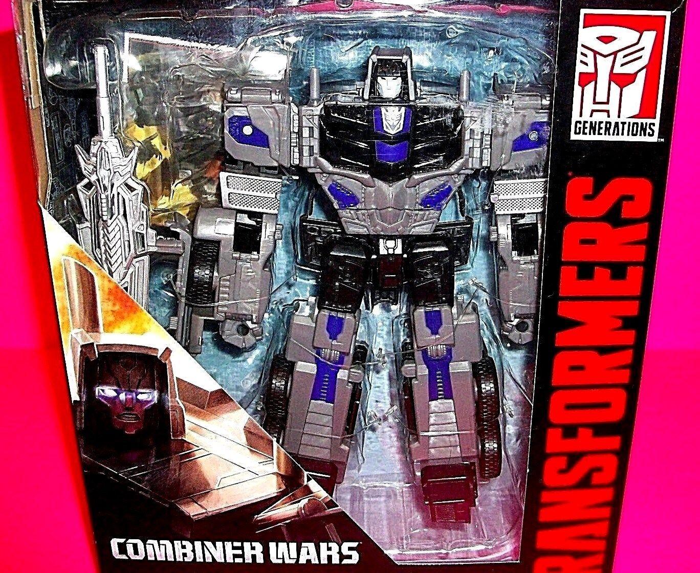 Transformers MOTORMASTER Combineur STUNTICON Action Figure w arme Carte Menasor