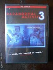 DVD PARANORMAL ACTIVITY 3 - EDICION DE ALQUILER -