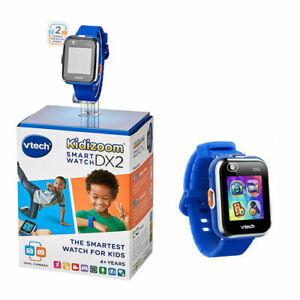 Detalles acerca de Vtech Kidizoom Smart Watch DX2 Reloj De Pantalla Táctil Childs en azul a estrenar mostrar título original