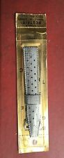 Vintage NOS Genuine Swiss Tropic 18mm Watch Band Silver Straight Ends