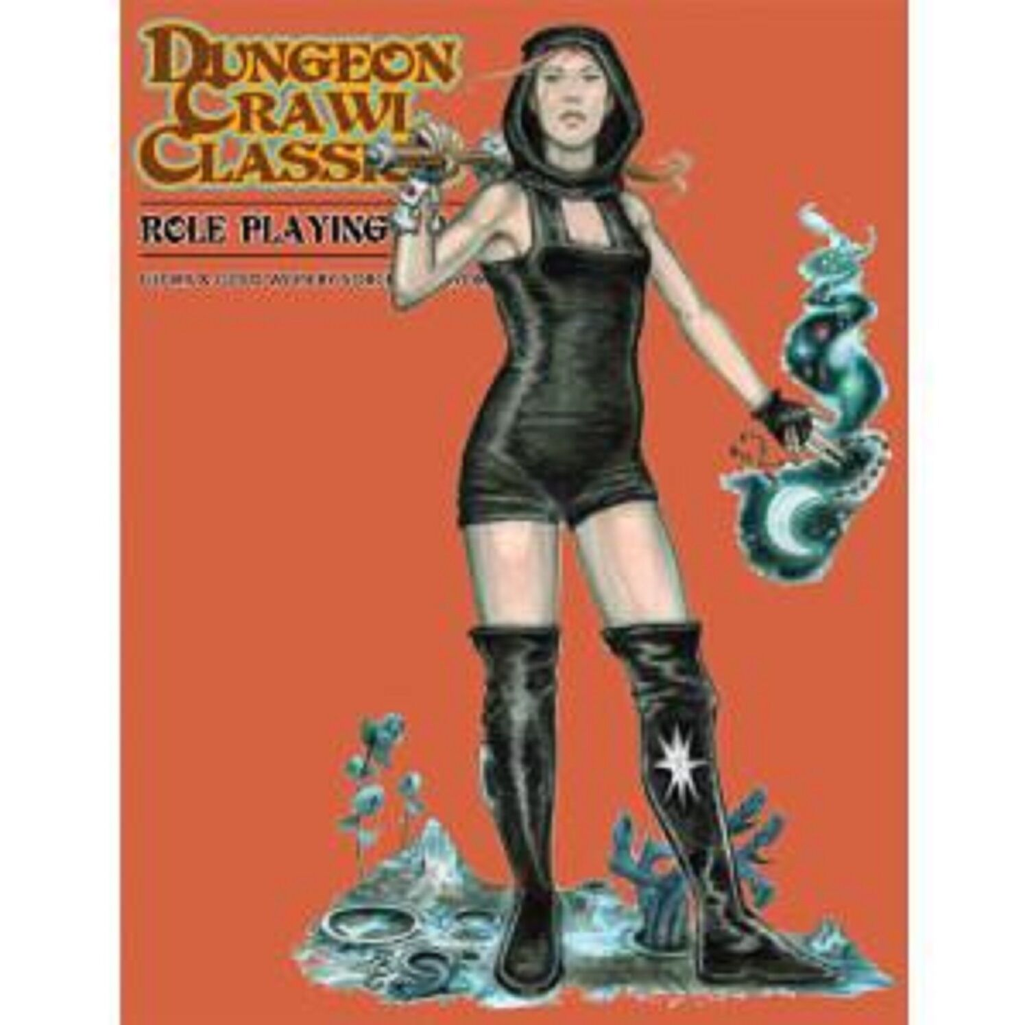 Dungeon Crawl Classics RPG Rulebook (Peter Mullen Slipcover Edition) GMG5070C