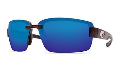 Costa Del Mar Gannet polarisée lunettes de soleil-Matte Seashell//bleu miroir 580P