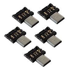 5x OTG Konverter Stecker Adapter USB Micro für Android Handy Smartphone Tablet