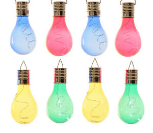8er-Set-LED-Solar-Gluehbirnen-in-4-Farben-leuchtende-Gluehlampen-bunt-Garten-Deko