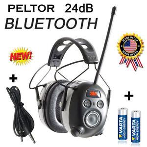 PELTOR-24dB-BLUETOOTH-Digital-Radio-Gehoerschutz-Kopfhoerer