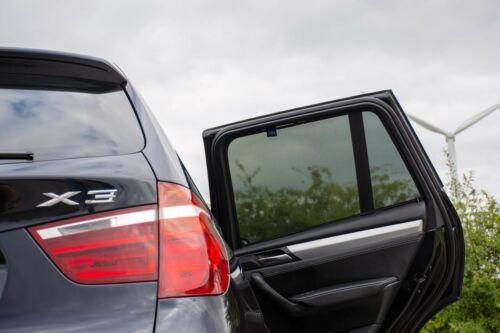BMW X3 e 2010 per auto UV Tonalità finestra tende sole privacy VETRO TINTA NERO
