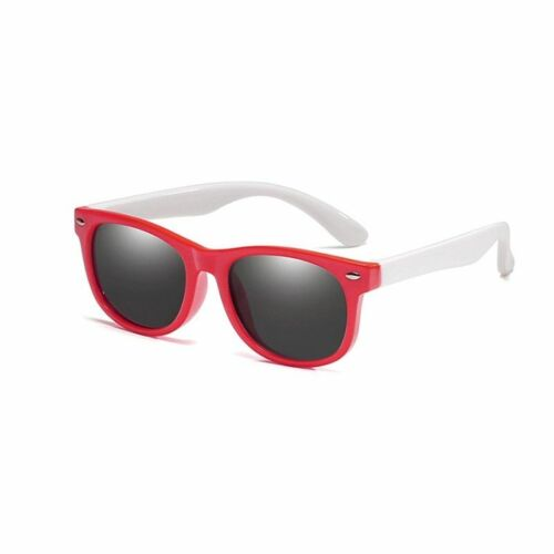 Polarized Kids Sunglasses Boys Girls Frames Silicone Safety Glasses UV400 Shades