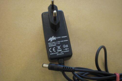 AVM AC//DC Adapter STECKERNETZTEIL 12V 1.2 A AVM04047                       #509