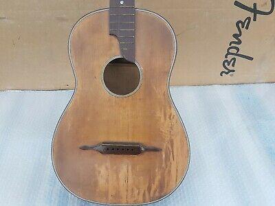 Antique Parlor Guitar - 46 Mm Wide Neck Durchblutung GläTten Und Schmerzen Stoppen