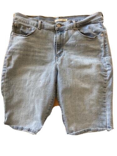 levi women shorts Long Knee Length Bermuda
