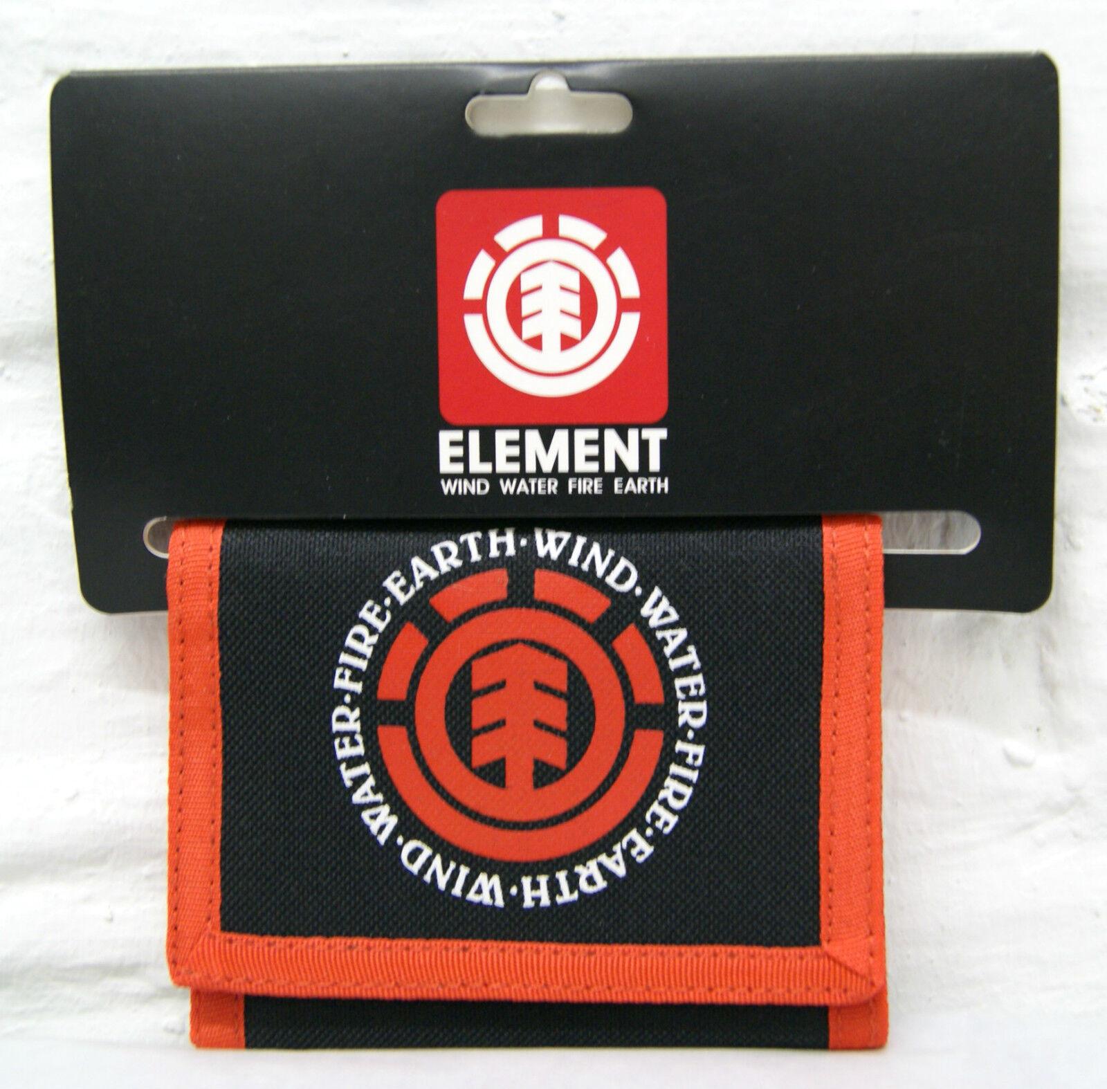 Element Elemental Wallet/Geldbörse Farbe Black/Red