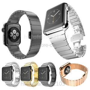 Stainless-Steel-Link-Bracelet-Strap-For-Apple-Watch-Band-5-4-3-2-44-42mm-40mm